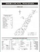 Index Map, Door County 1990